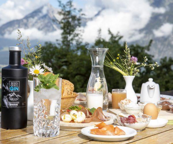 Frühstück am Pinzgerhof