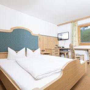 TV im Hotelzimmer
