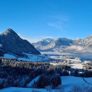 Panoramablick Winter
